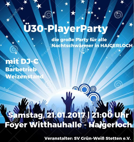 Ü30-PLAYERS-PARTY